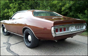 Brown 1971 Charger